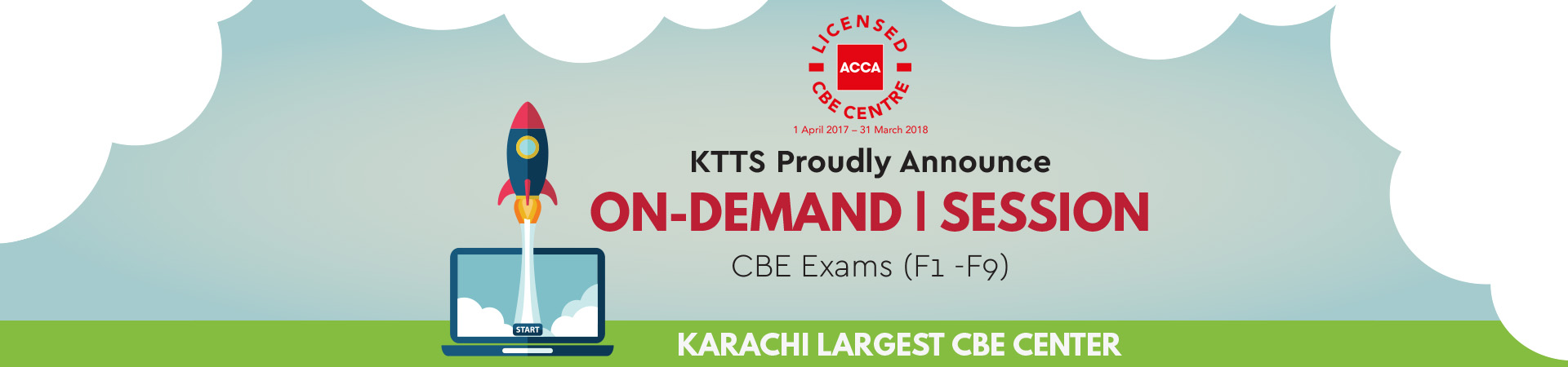Online exams in karchi karachi technologies testing services 3 easy steps to taking an exam at the exam centre xflitez Images